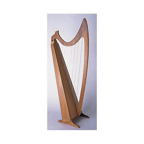 Bauplan gothische Harfe 36 Saiten