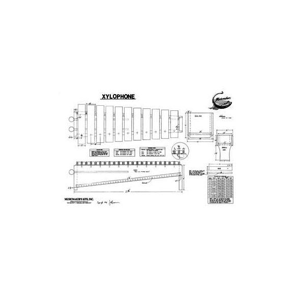 Bauplan Xylofon