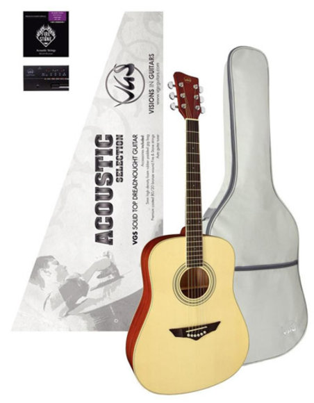 VGS Akustikgitarre Mistral Series Acoustic Selection Natural Satin